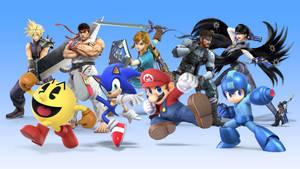 Some Smash Bros. Ultimate Icons by emma-zelda2