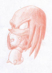 Knuckles in Colour by tempus-fugit