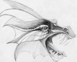 Dragon - 1st attempt by tempus-fugit