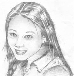 Sketch of Arisu by tempus-fugit