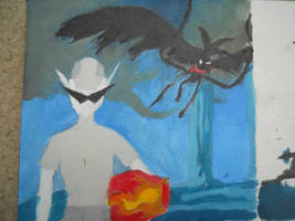 Bro Project Panel #1 Oil Painting