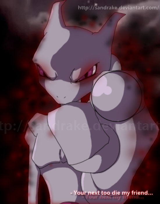 .:Taking Over Mewtwo:. by sandrake