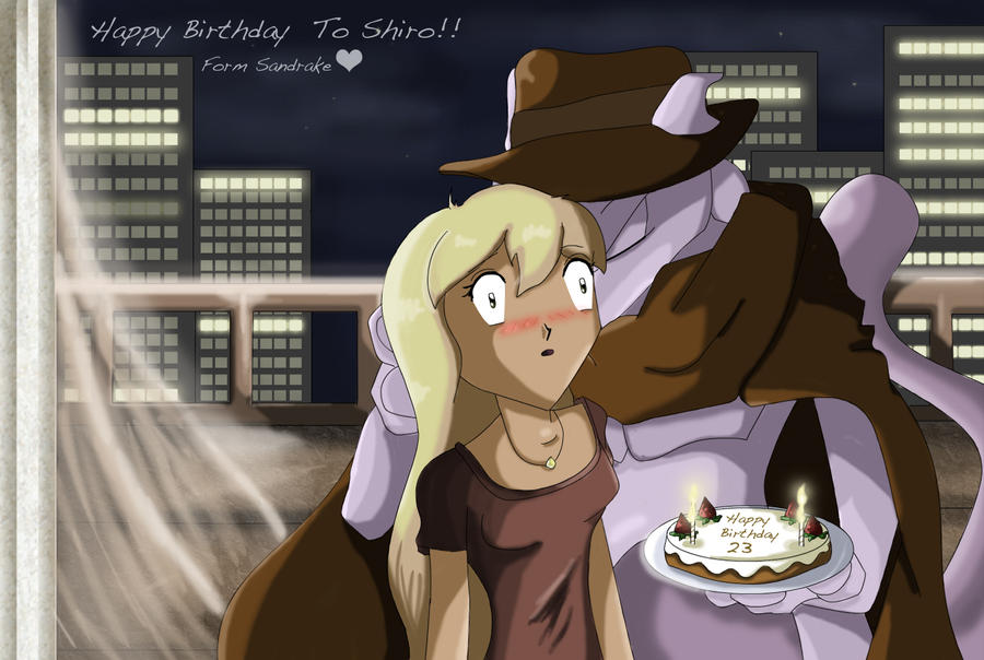 .:Shiro's Birthday 2010:. by sandrake