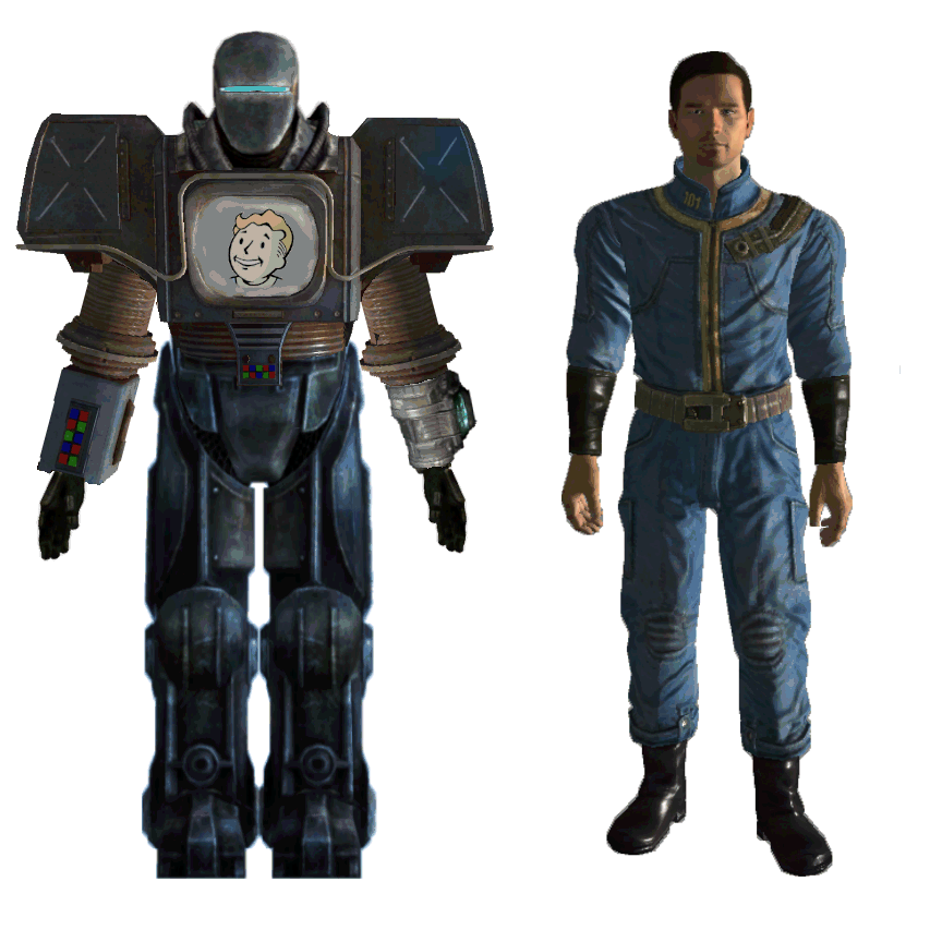 Securitron Mk1 Power Armor By Crimson Knight77