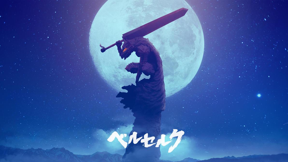 Berserker In The Moonlight By Fazal Sama