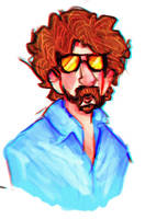 jeff lynne by spinachtoffeee