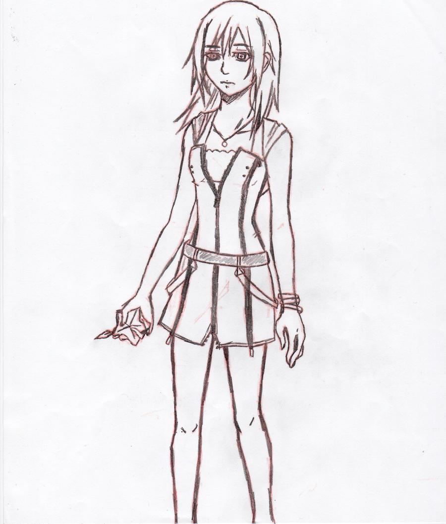 Kairi from Kingdom Hearts by mantis484848