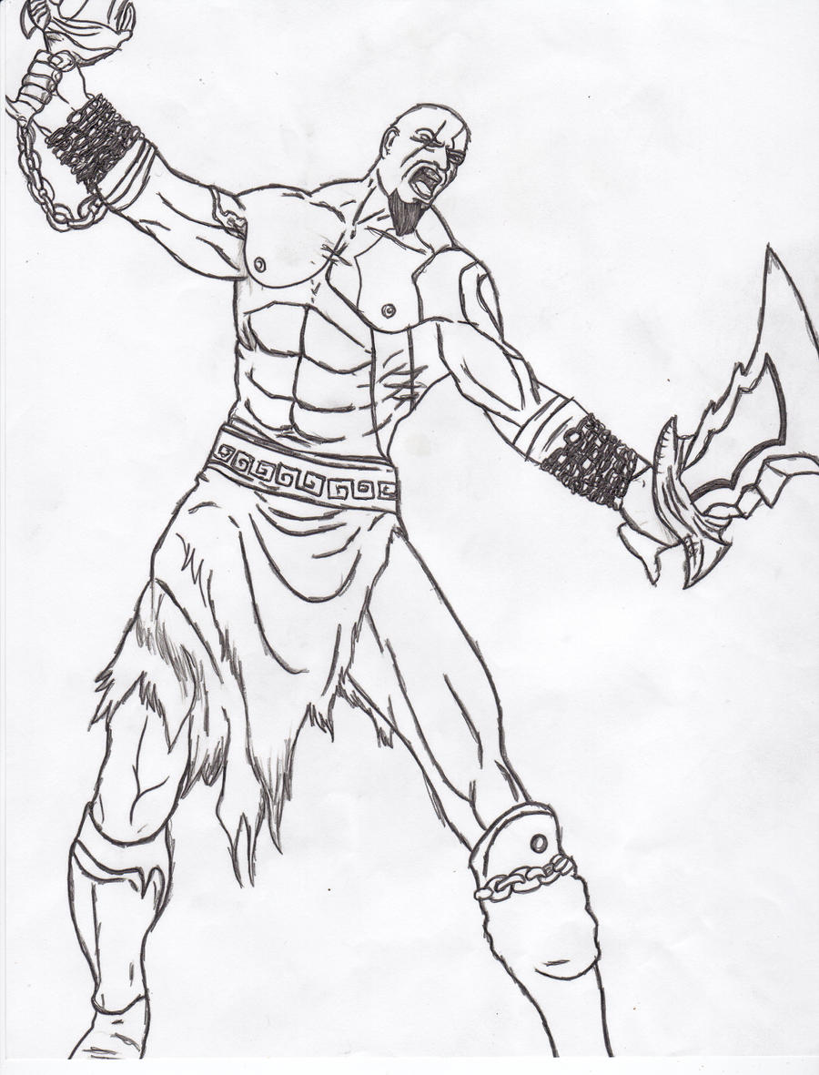 god of war coloring pages - photo#11