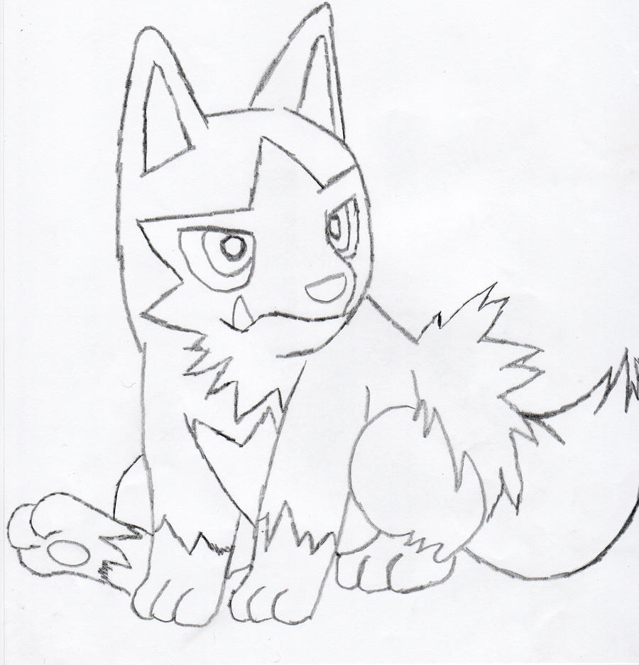 Poochyena pages coloring pages for Poochyena coloring pages