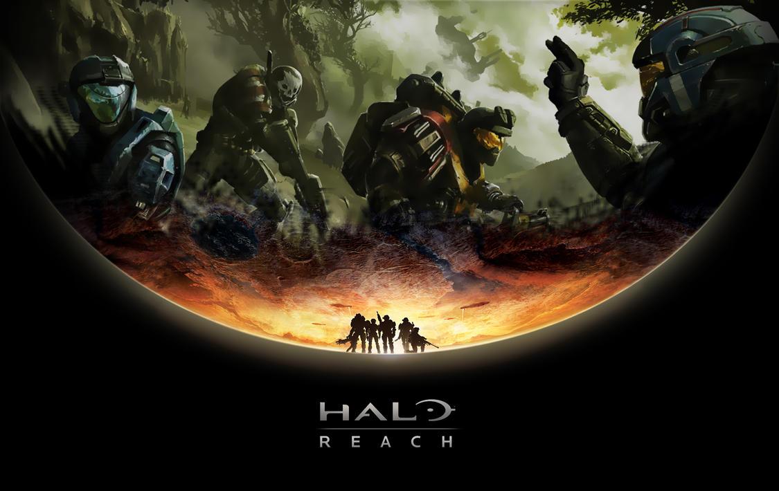Halo Reach HD Wallpaper by WickedWahine808 on DeviantArt