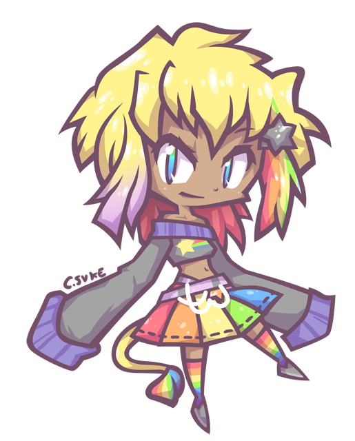 request : for kawii-rainbowstar by Cindysuke