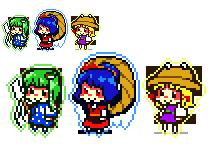 Moriya pixel by Cindysuke