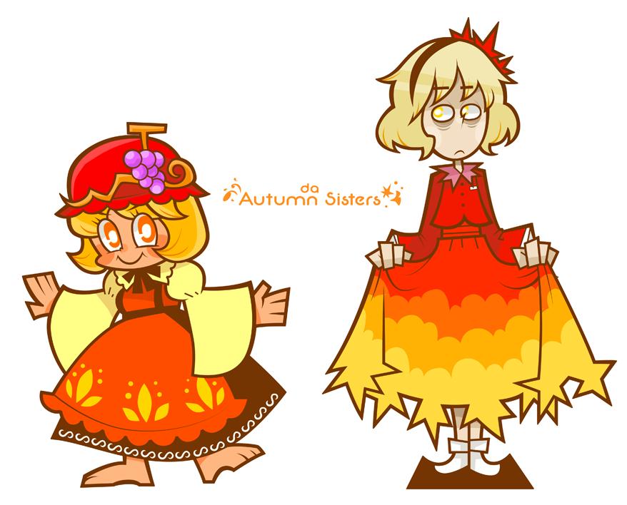 falling sisters by Cindysuke