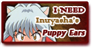 I Need 'Inuyasha's Ears' Stamp by Kagome-Yuki-Niwa