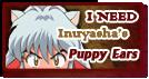 I Need 'Inuyasha's Ears' Stamp by Kagome-Yuki-Niwa