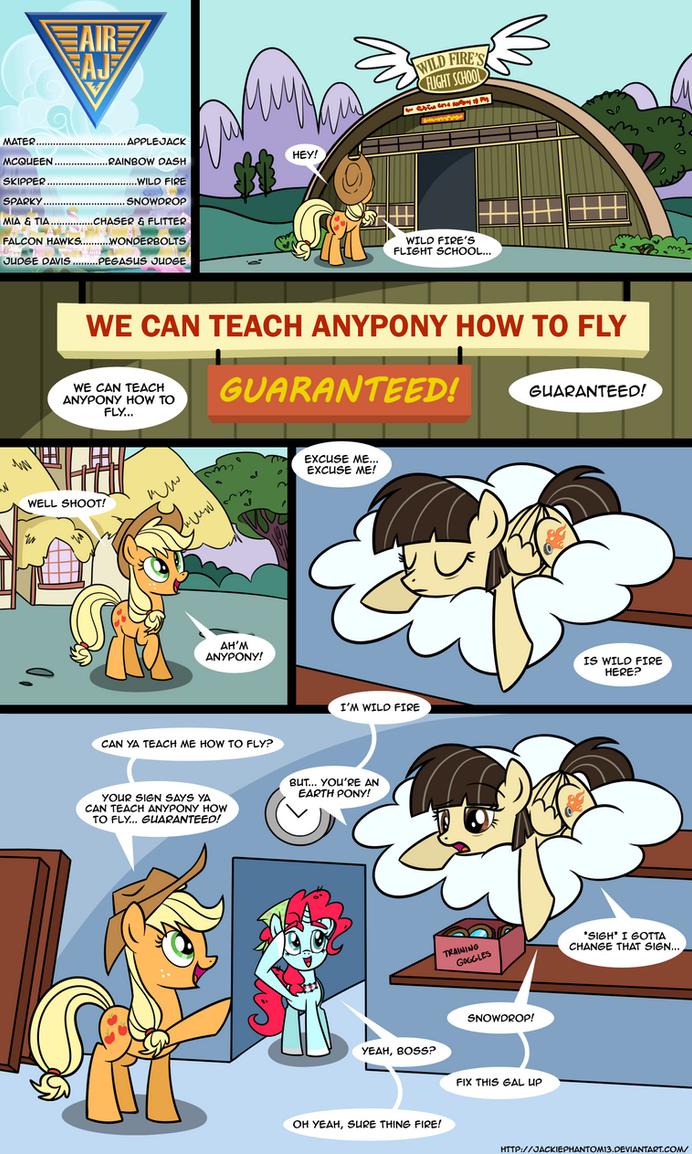 Air AJ: Anypony GUARANTEED by JackiePhantom13