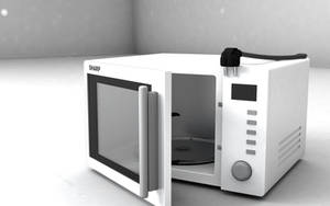 Microwave Sharp R60STW 02 [WiP] by Elbartoab