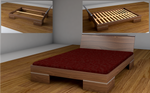 Bed - Fully Modeled
