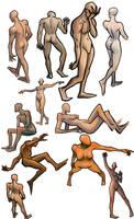 Figure Studies by freeCardboardBox