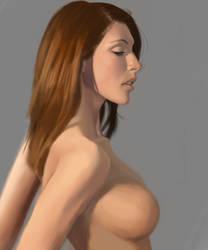Portrait Study 24 by freeCardboardBox