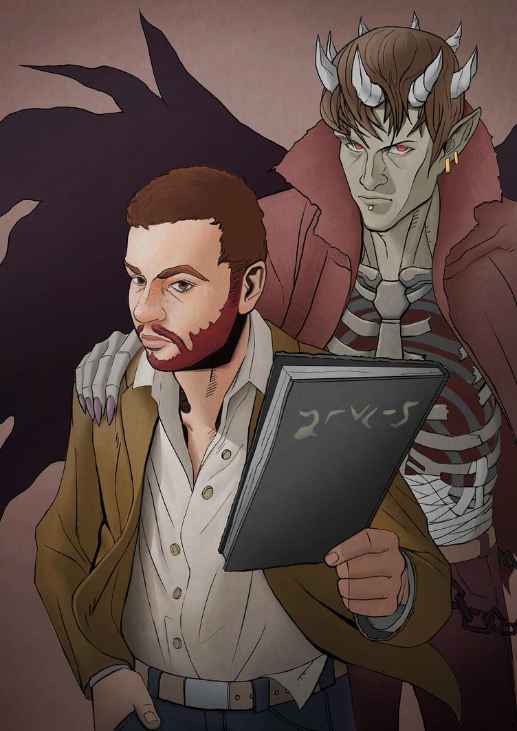 Death Note Portrait by freeCardboardBox