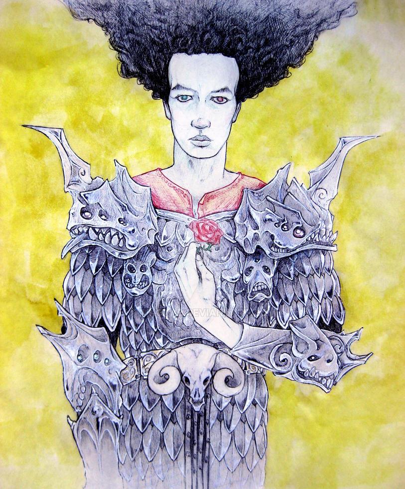 Gargoyle armour by NikoKab