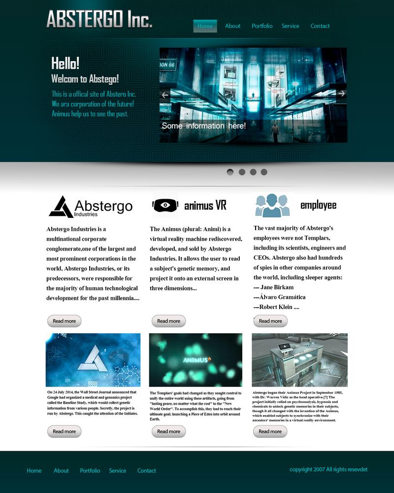 DesignOfSite  Absergo by alexsh97