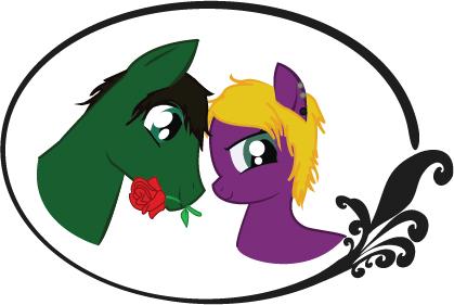 MLP Pony Couple by Eutoka