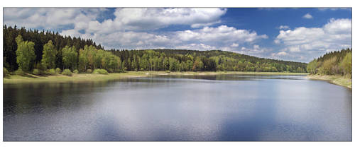 the lake by Hasche