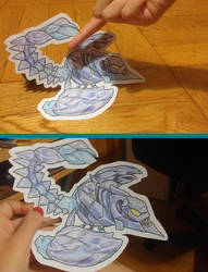 Skarner paper child by WolfSerenade