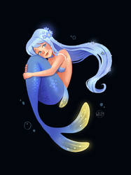 Mermay2020 day 9 - forget me not