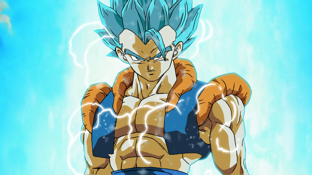 Gogeta Ssgss Super Sayian God Super Sayian By Gytisjust