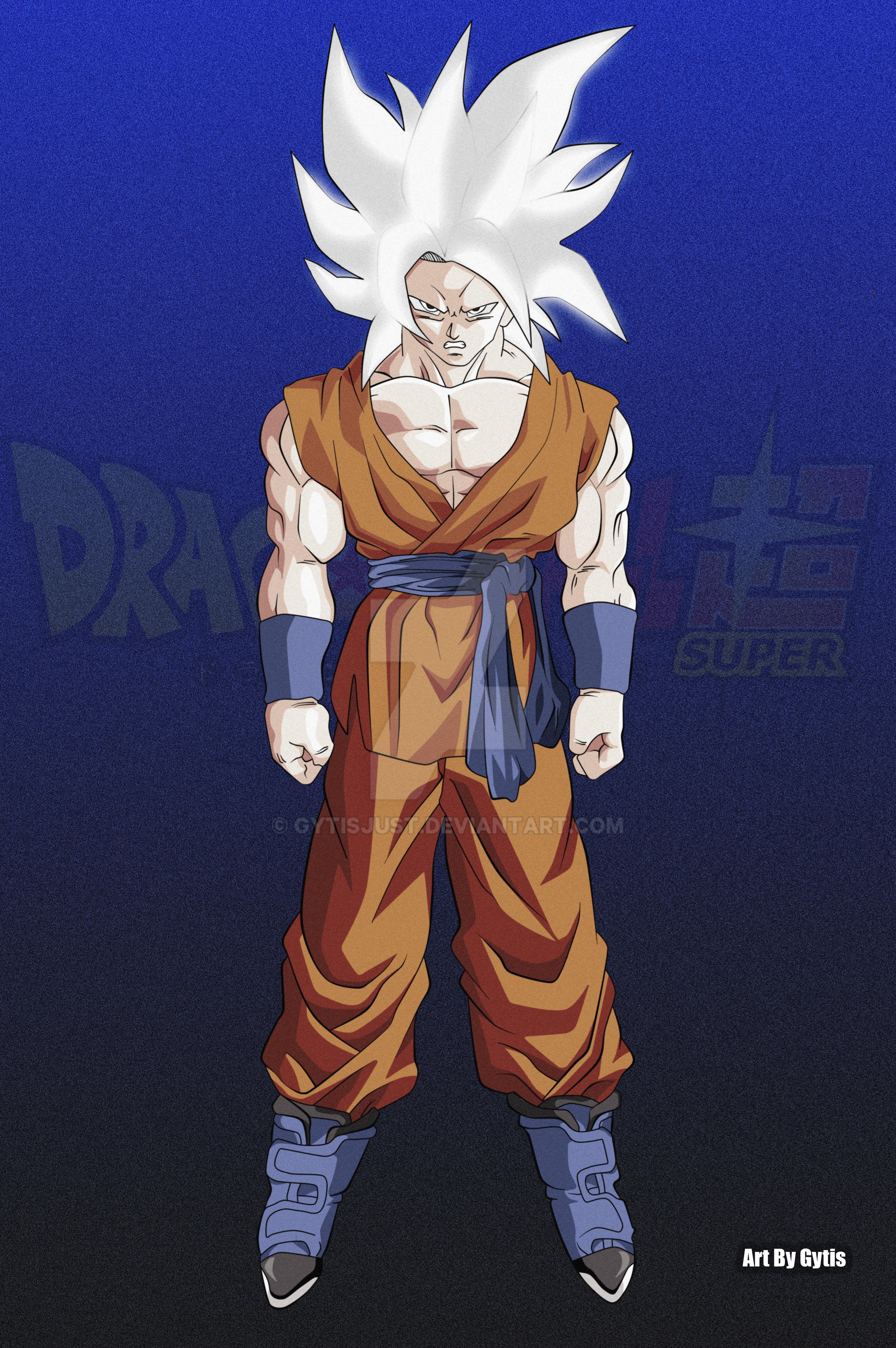 Goku New God Form by Gytisjust on DeviantArt