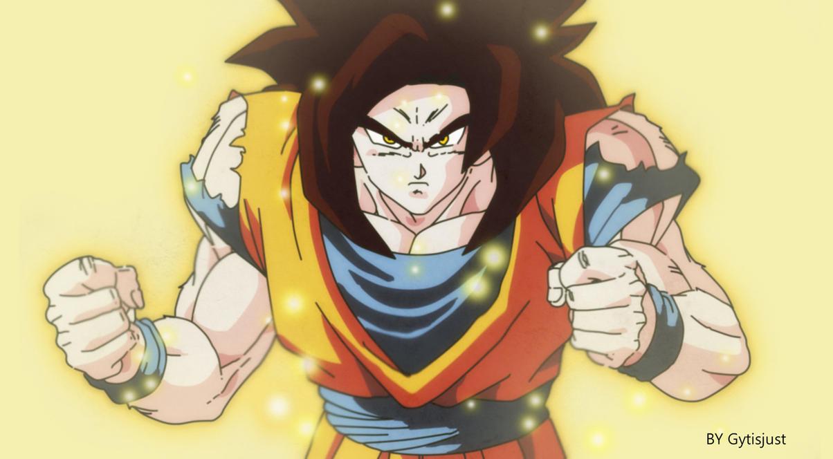 Favori Super Saiyan 4 (Dragon Ball Z Art Style) by Gytisjust on DeviantArt II42