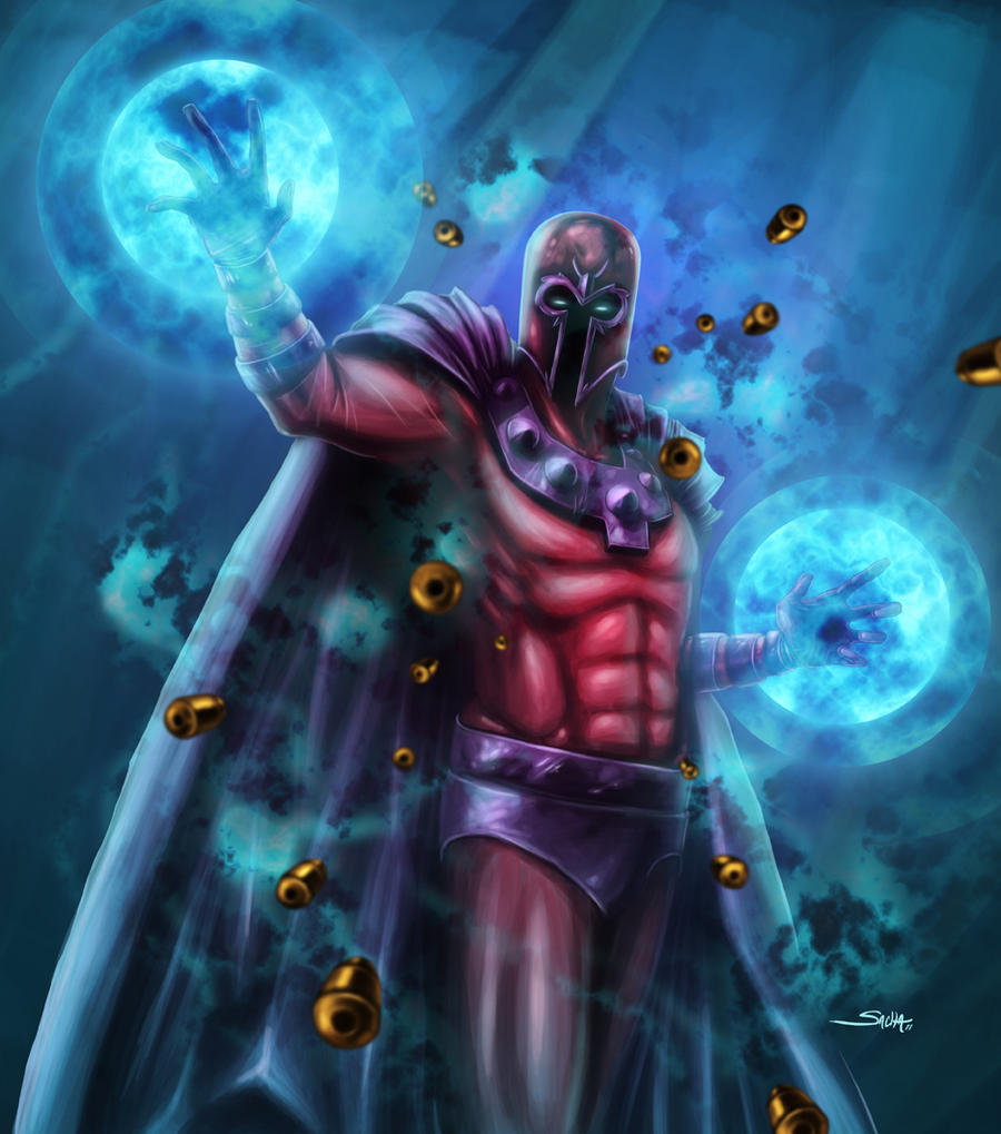 magneto by sachalefebvre on deviantart