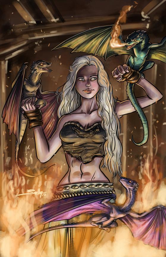 Daenerys Targaryen by SachaLefebvre