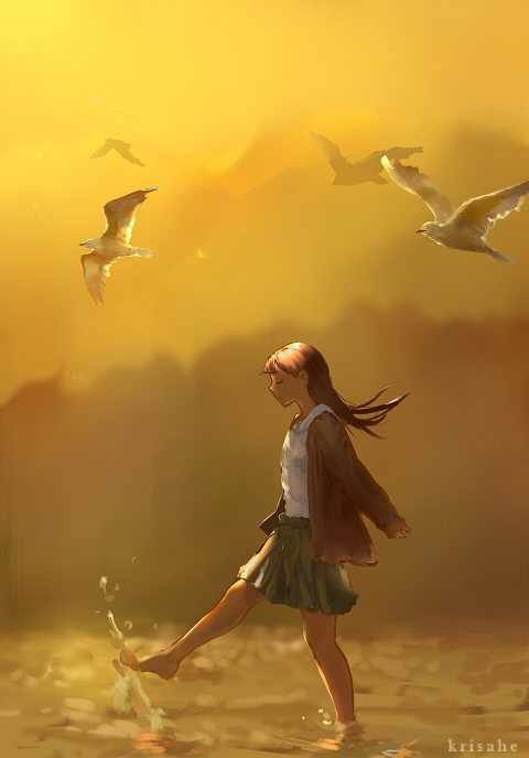 Let's Fly Away by KrisaHe