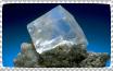 Halite stamp by Guajorite
