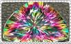 Mystic topaz stamp by Guajorite