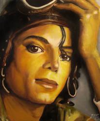 Micheal Jackson 1997 by arcitenens