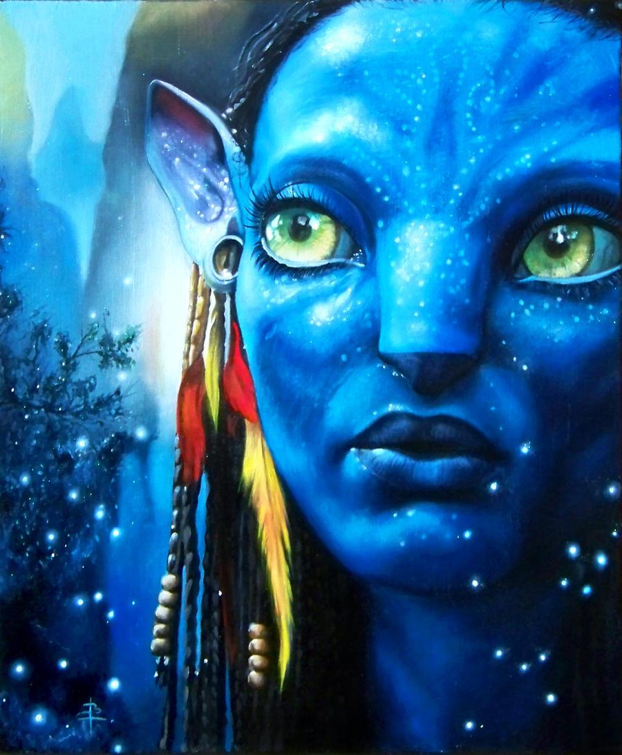 Neytiri avatar by arcitenens