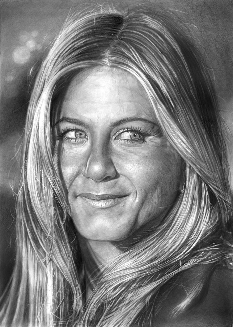 Jennifer Aniston 2010 By Arcitenens On Deviantart