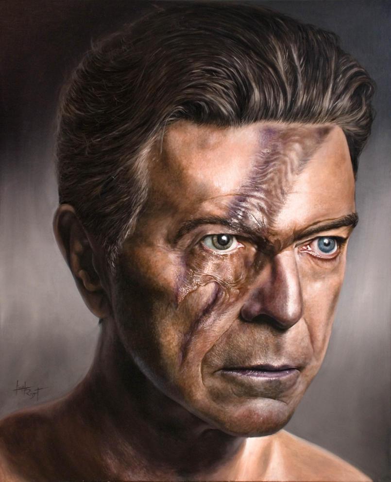 David Bowie's Magic Miror by arcitenens