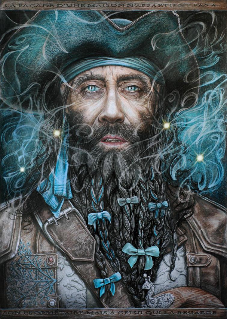 Black Beard by arcitenens