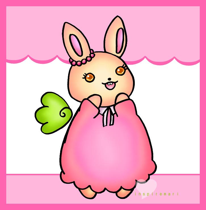 Little Dancer Bunny by InspireMari