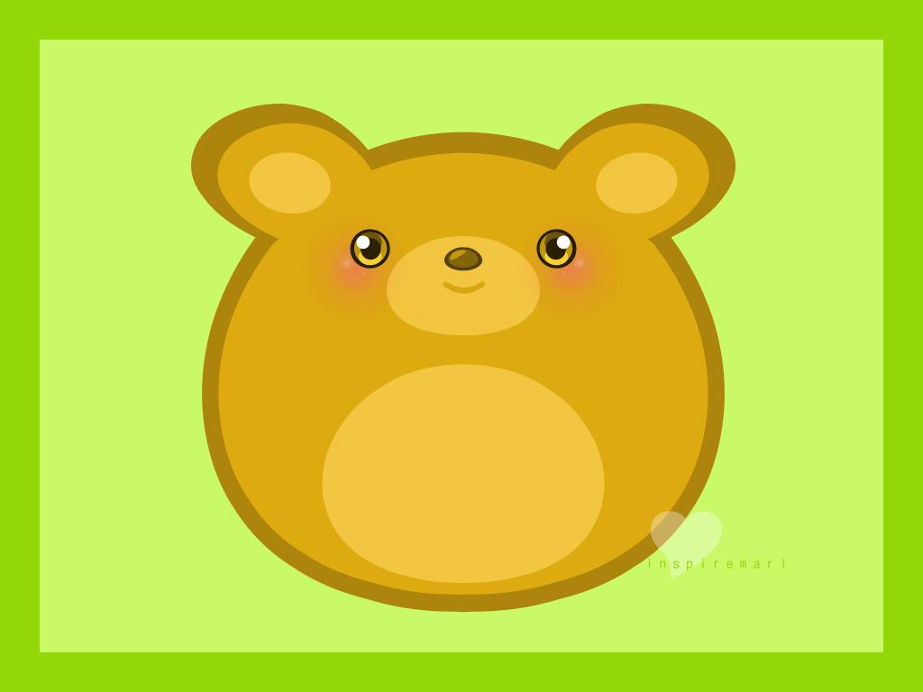 Round Bear by InspireMari