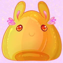 Kawaii Pudding Bunny Blob