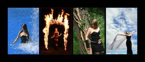 four elements by BarrelOfAGun