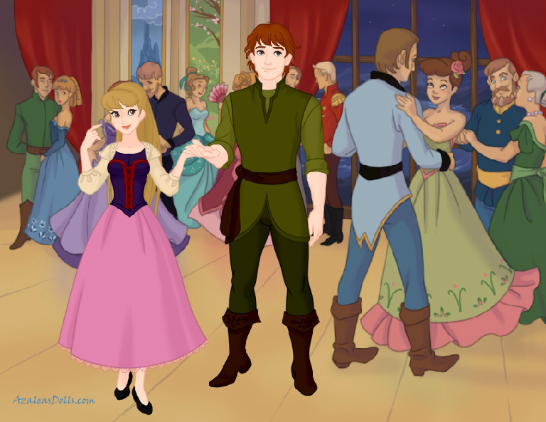 Taran and Eilonwy at Court by Shirekat