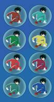 Midoriya color battle bubble